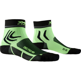 X-Socks Bike Pro Calcetines de longitud media, opal black/amazonas green